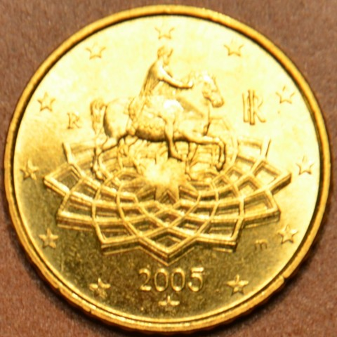 50 cent Italy 2005 (UNC)