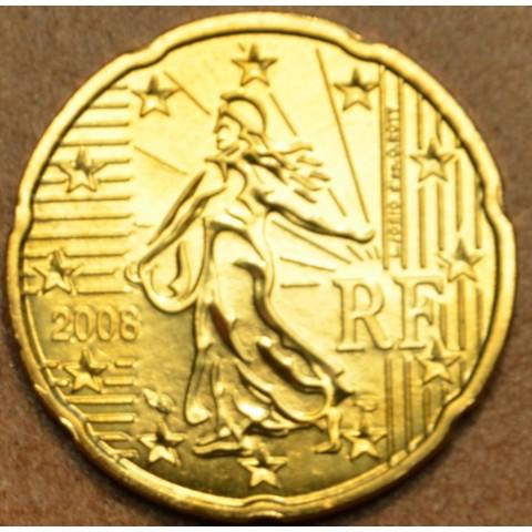 20 cent Francúzsko 2008 (UNC)
