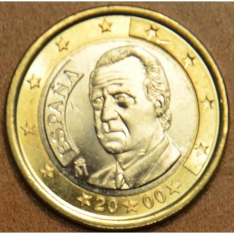 1 Euro Španielsko 2000 (UNC)