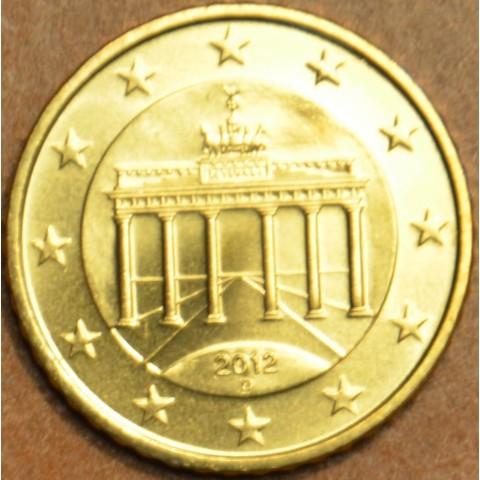 """50 cent Germany """"D"""" 2012 (UNC)"""