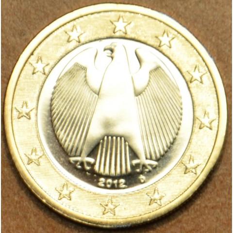 """1 Euro Nemecko """"D"""" 2012 (UNC)"""