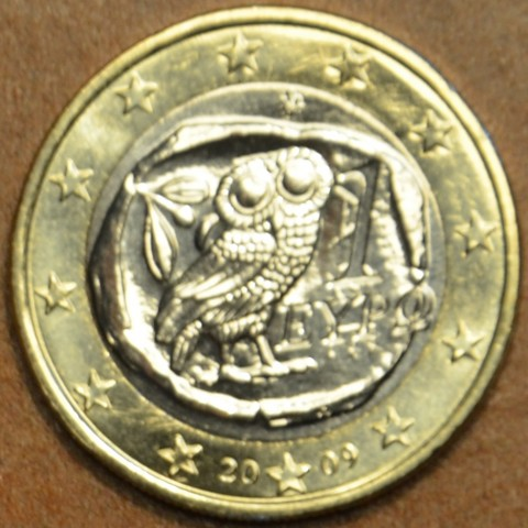 1 Euro Grécko 2009 (UNC)
