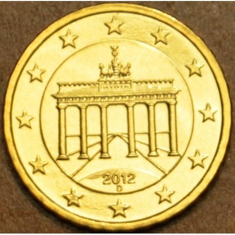 """10 cent Germany """"D"""" 2012 (UNC)"""