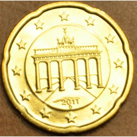 """20 cent Nemecko """"D"""" 2011 (UNC)"""
