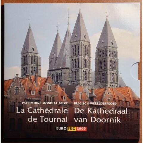 Belgium 2009 official set with token (BU)