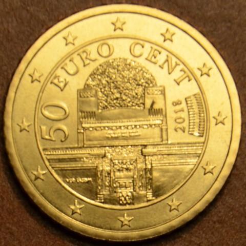 50 cent Rakúsko 2018 (UNC)