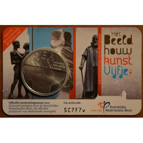 5 Euro Netherlands 2012 - Sculpture (BU card)