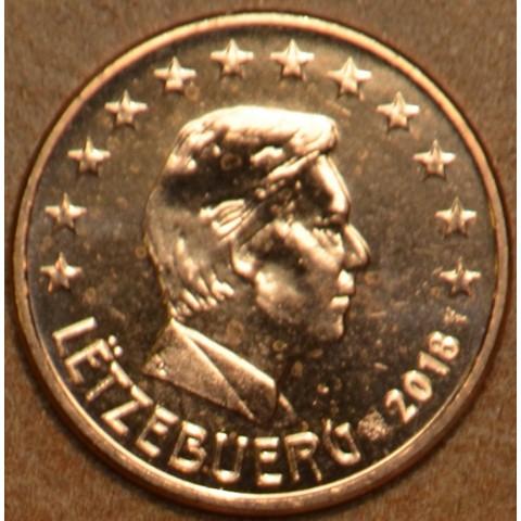 2 cent Luxembursko 2018 (UNC)