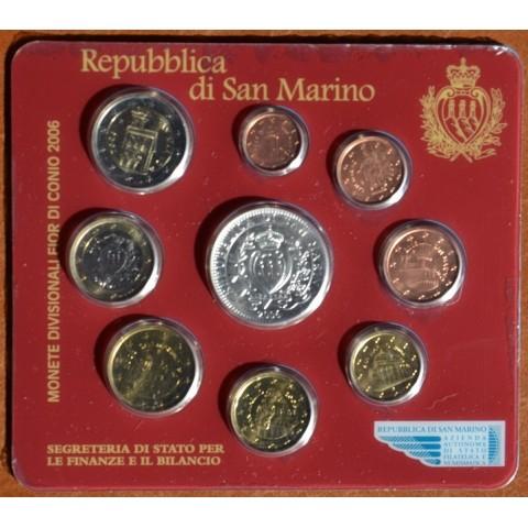Oficiálna sada 9 mincí San Marino 2006 (BU)