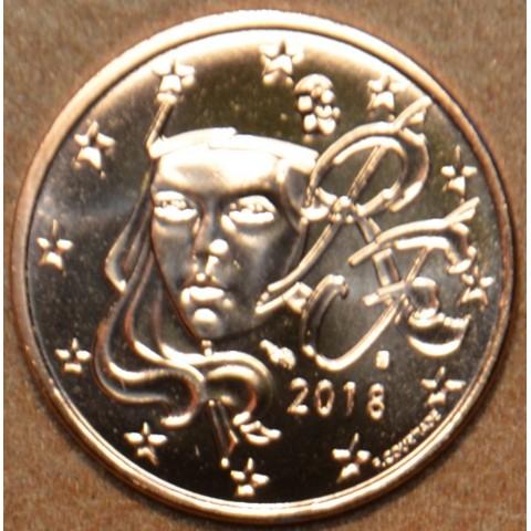 2 cent Francúzsko 2018 (UNC)