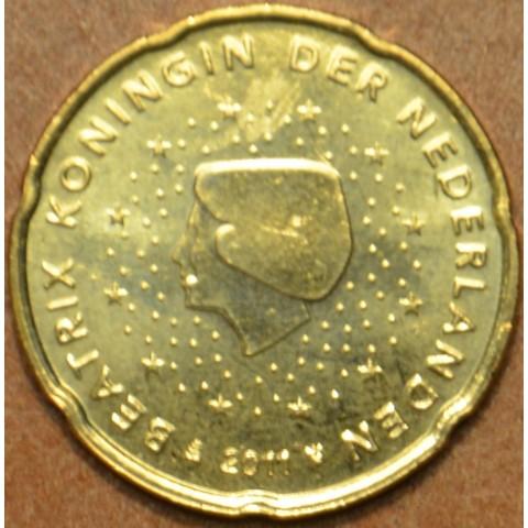 20 cent Netherlands 2011 (UNC)