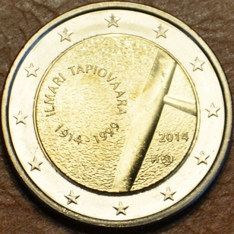 2 Euro Fínsko 2014 - 100. výročie narodenia dizajnerky Ilmari Tapiovaara (UNC)