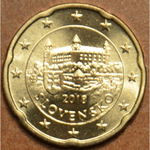20 cent Slovakia 2018 (UNC)