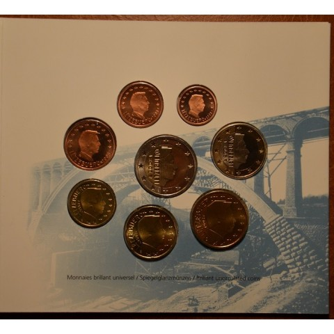 Official set of 8 coins Luxembourg 2003  (BU)