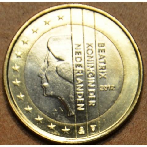 1 Euro Holandsko 2012 - Kráľovná Beatrix (UNC)