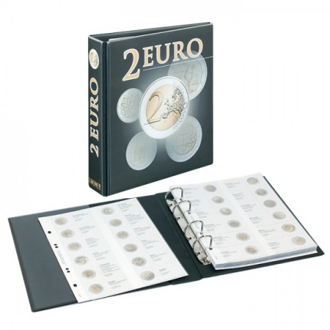 Lindner PUBLICA album for 2 Euro coins
