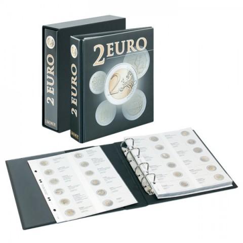 Lindner PUBLICA album na 2 Euro mince s obalom