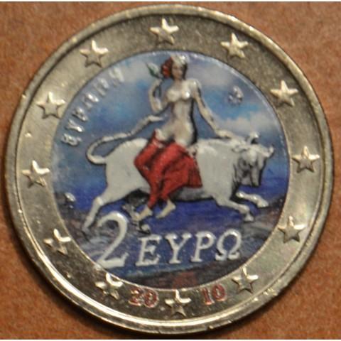 2 Euro Grécko 2010 - Európa (farebná UNC)