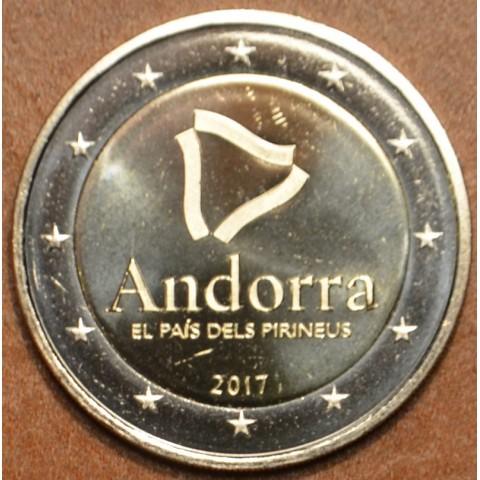 2 Euro Andorra 2017 - The Pyrenean country (UNC)
