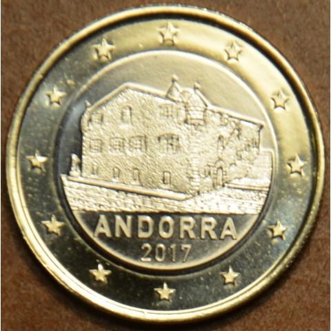 1 Euro Andorra 2017 (UNC)