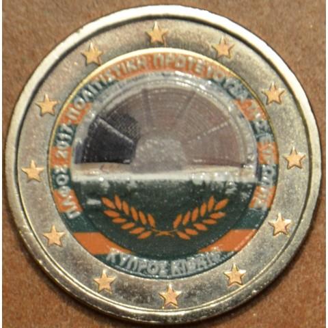 2 Euro Cyprus 2017 - Paphos III. (colored UNC)
