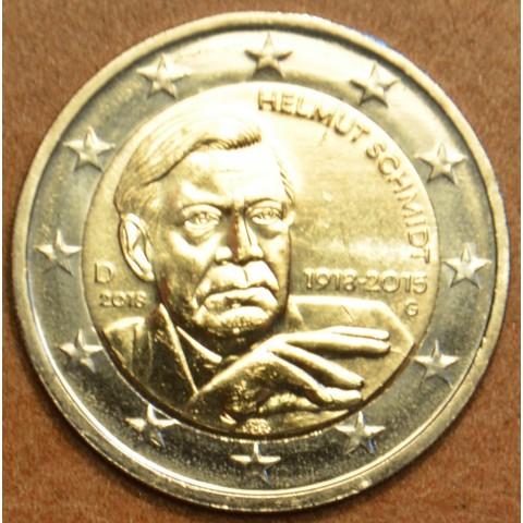 "2 Euro Germany ""G"" 2018 - Helmut Schmidt (UNC)"