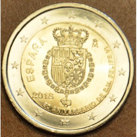 2 Euro Spain 2018 - Felipe VI. (UNC)