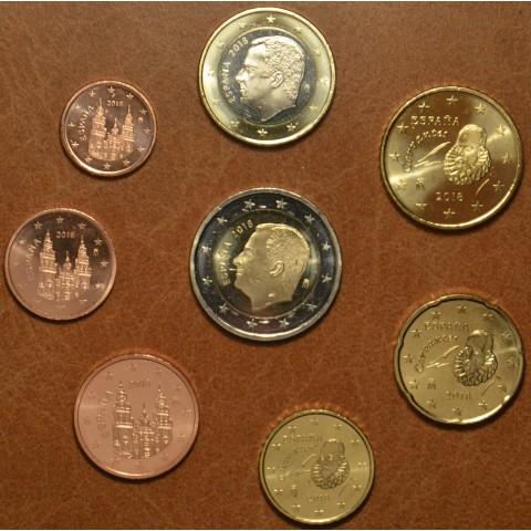 Set of 8 coins Spain 2018 (UNC)