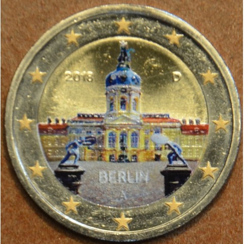"2 Euro Germany ""A"" 2018 - Berlin:  Scharlottenburg (colored UNC)"