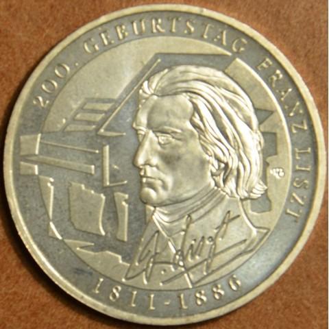 "10 Euro Nemecko ""G"" 2011 Franz Liszt (UNC)"