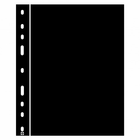 10 ks deliacich listov OPTIMA čiernej farby