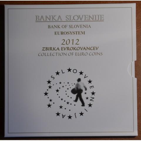 Set of 10 coins Slovenia 2012 (BU)