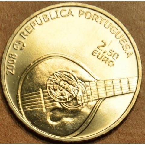 2,5 Euro Portugal 2008 - Fado (UNC)
