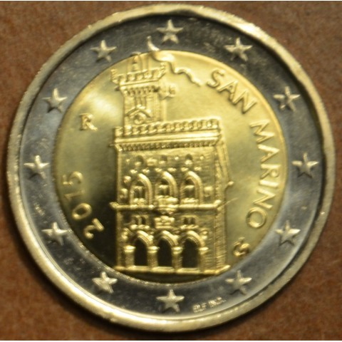 2 Euro San Marino 2015 - Government House (UNC)