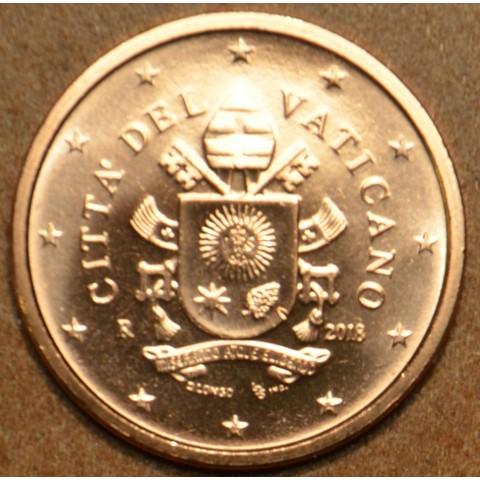 1 cent Vatikán 2018 (BU)