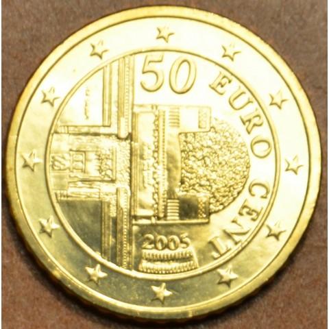 50 cent Rakúsko 2005 (UNC)