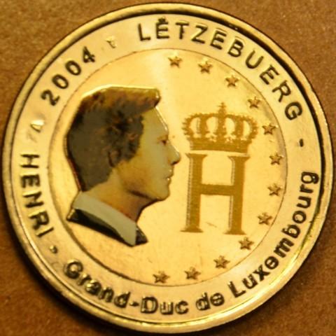 2 Euro Luxembursko 2004 - Veľkovojvoda Henri (farebná UNC)