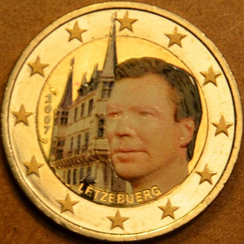 2 Euro Luxembourg 2007 - Grand Ducal Palace (colored UNC)
