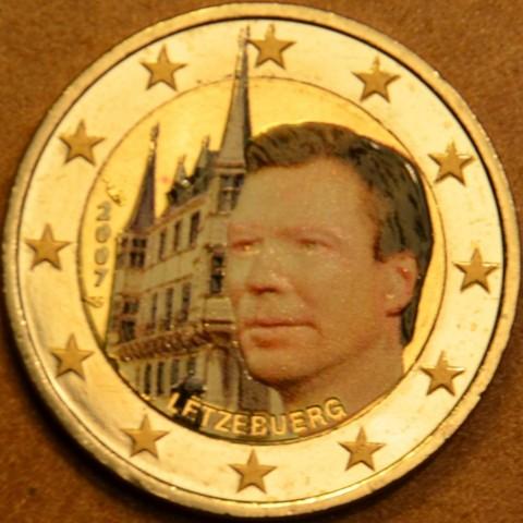 2 Euro Luxembursko 2007 - Veľkovojvodský palác (farebná UNC)