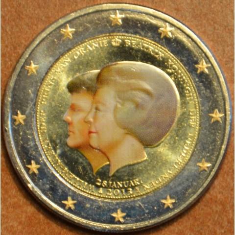 2 Euro Holandsko 2013 - Dvojportrét II. (farebná UNC)