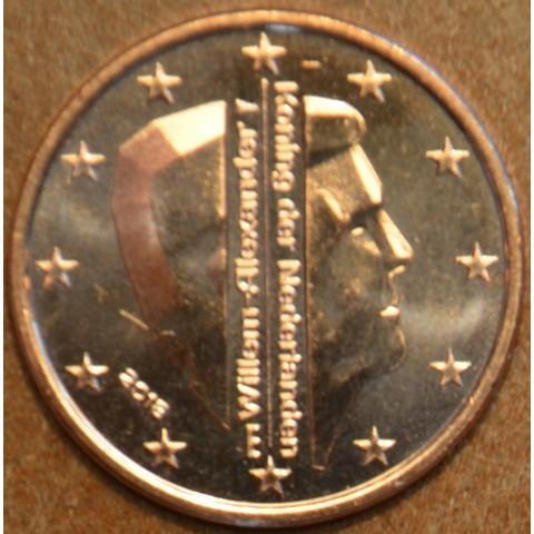 1 cent Holandsko 2018 - Kráľ Willem Alexander (UNC)
