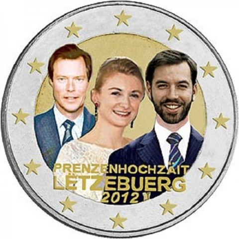 2 Euro Luxembourg 2012 - Royal Wedding  (UNC)