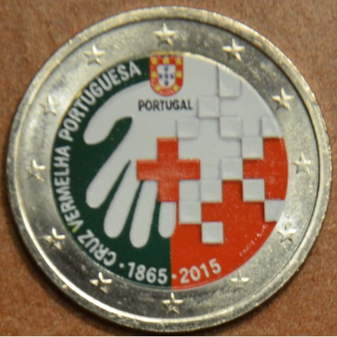 2 Euro Portugal 2015 - 150 years of Red Cross IV. (colored UNC)