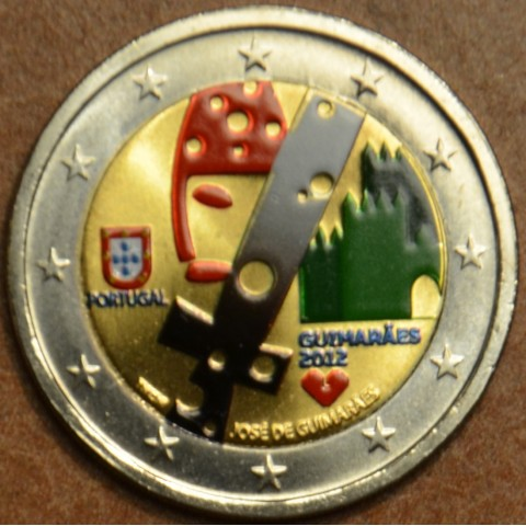 2 Euro Portugal 2012 - Guimarães - Capital Europeia da Cultura III. (colored UNC)