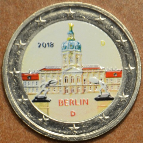 "2 Euro Germany ""A"" 2018 - Berlin:  Scharlottenburg II. (colored UNC)"