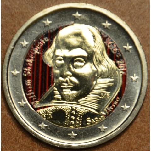 2 Euro San Marino 2016 - 400th anniversary of the death of William Shakespeare II. (colored UNC)