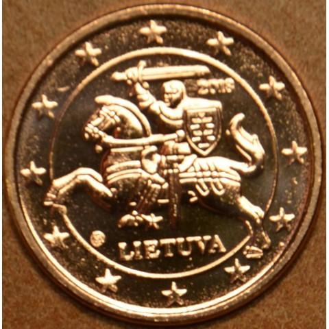 1 cent Lithuania 2018 (UNC)