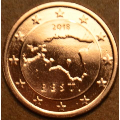 1 cent Estónsko 2018 (UNC)