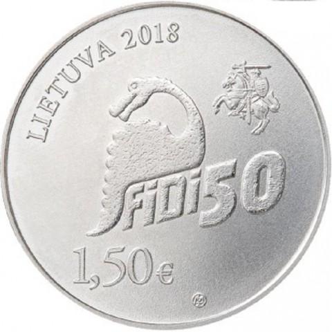 1,50 Euro Lithuania 2018 FiDi (UNC)
