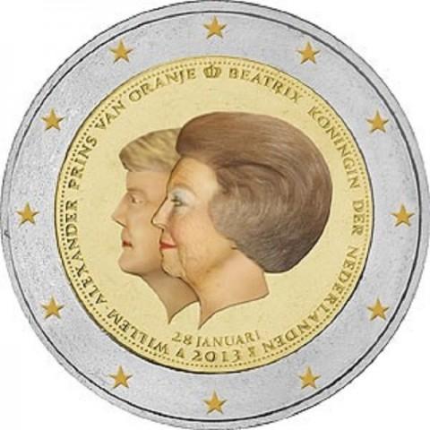 2 Euro Netherlands 2013 - Double portrait (UNC)